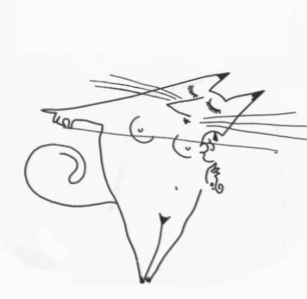 Кстати, На открытии вернисажа самыми ходовыми были рисунки котов. .  Их буквально расхватали!